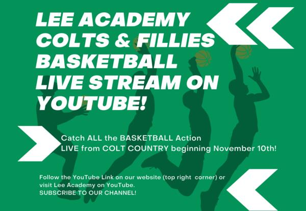 Basketball LIVE from Colt Country!