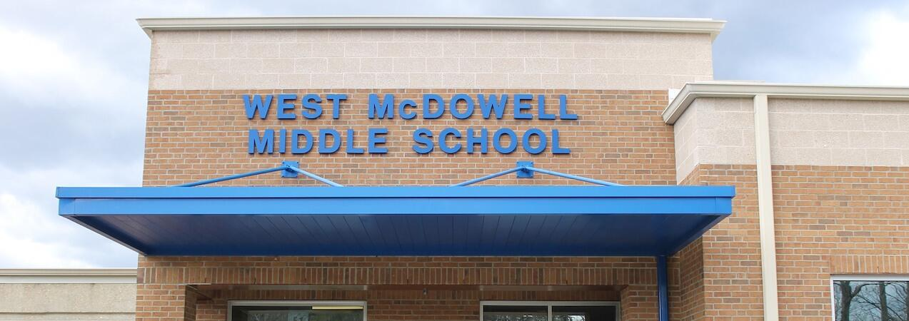 West McDowell Middle School