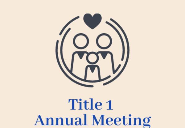 silhouette of family Title 1 Meeting Logo
