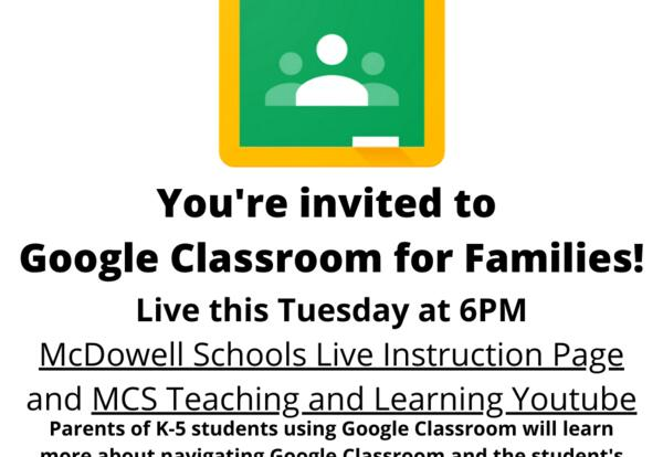 Google Classroom for Families