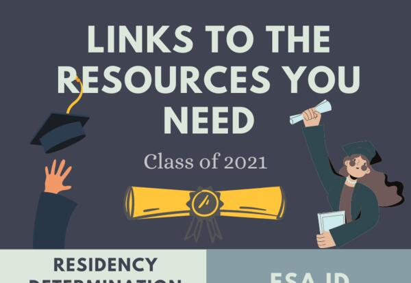 Resources for the Class of 2021