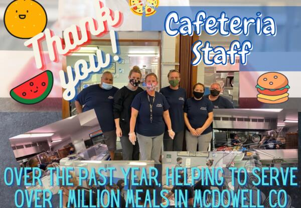 Thank You Cafeteria Staff