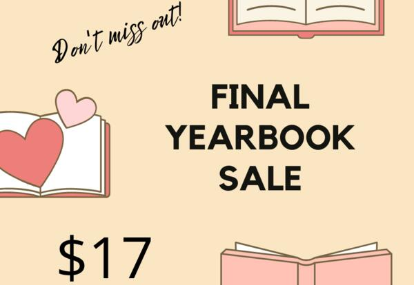 yearbook sale $17