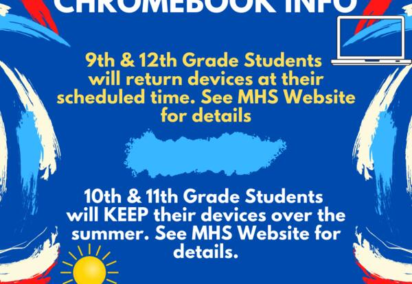 End of Year Chromebook Information