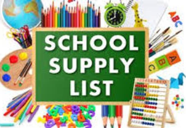 WMMS School Supply List