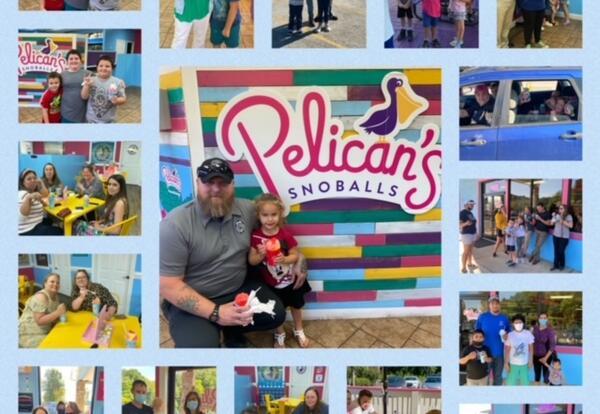 Pelicans Snoballs