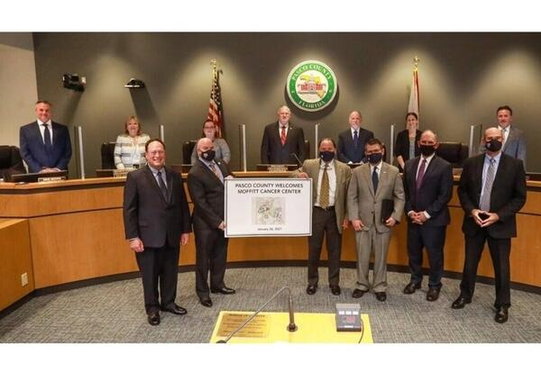 Pasco County Commissioners welcome Moffitt Cancer Center