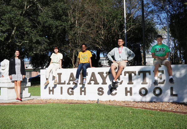 Photo of the Semifinalists of the National Merit® Scholarship Program.