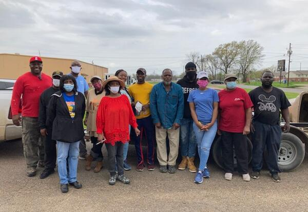 NHS students clean up community