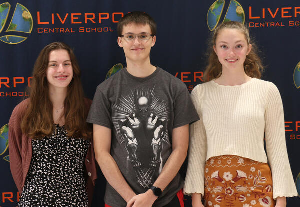 Madison Fox-Moore, Nathaniel De Lucia and Samantha Gallagher