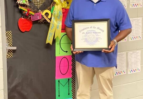 September Employee of the Month: Mr. Rodney Anderson