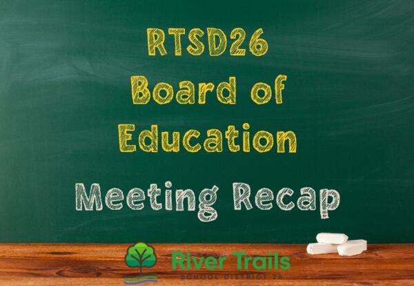September Board Meeting Recap