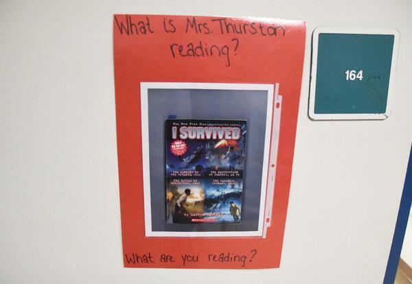 Mrs. Thurston Door Sign