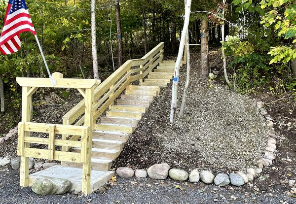 MCS Discovery Trail Staircase