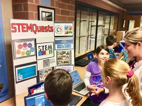 STEMQuest Display