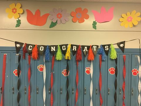 Congratulations banner