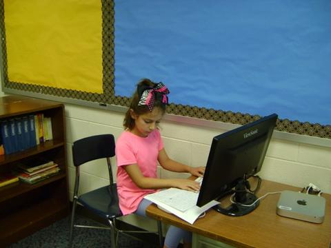 Student word processing