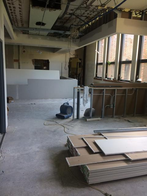 Lincoln Office being put back together