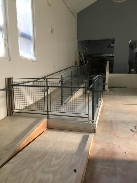 Lincoln LRC Ramp Railing