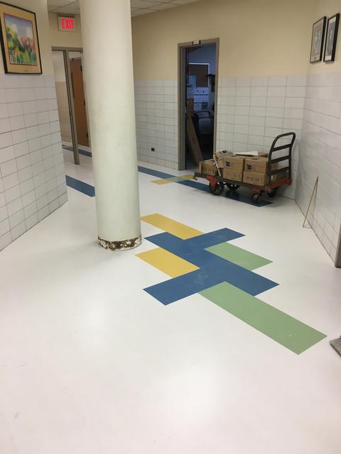 Lincoln 3rd floor hallway