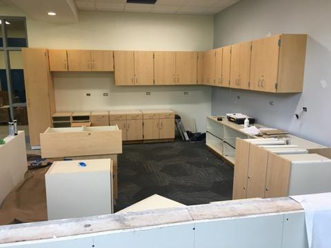 Lincoln MakerSpace Cabinets