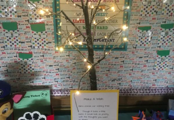 Ms. Downes Wishing Tree