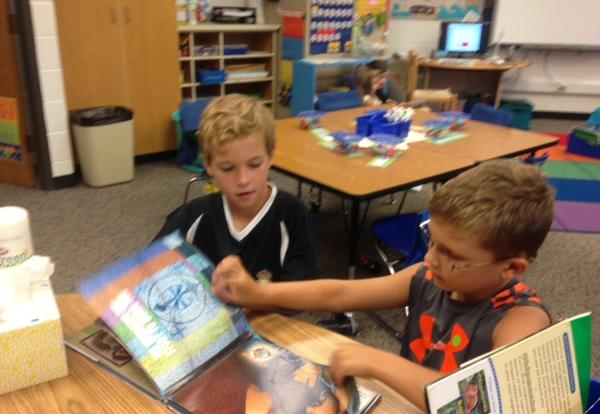 Second Grades Daily 5 Reading