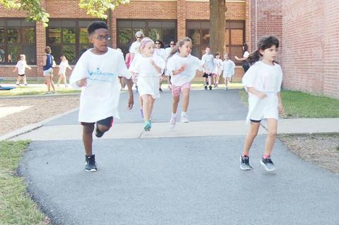 Running students