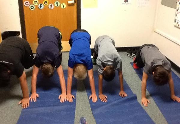 Yoga at Washington