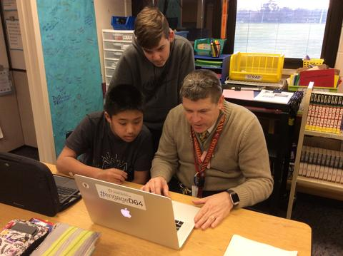 principal coding with two students
