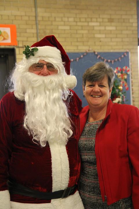 principal and santa
