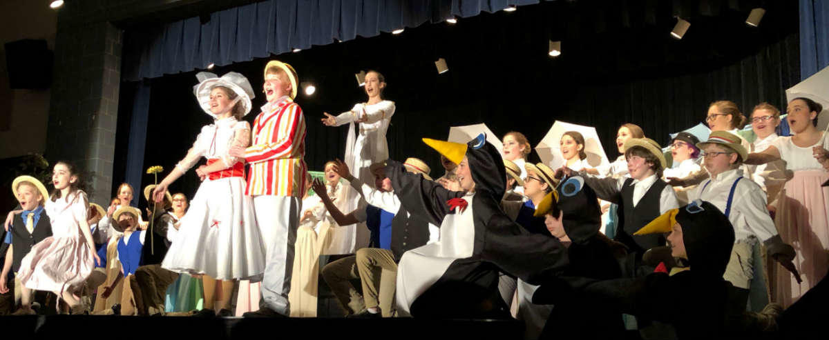 Mary Poppins performance