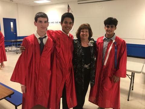 Emerson graduates