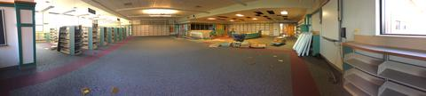 Panoramic view of LRC mid demo