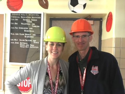 Principal Dwyer and Assistant Principal Sobotka