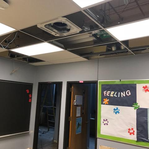 missing ceiling panels