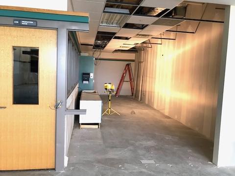 New LRC hallway