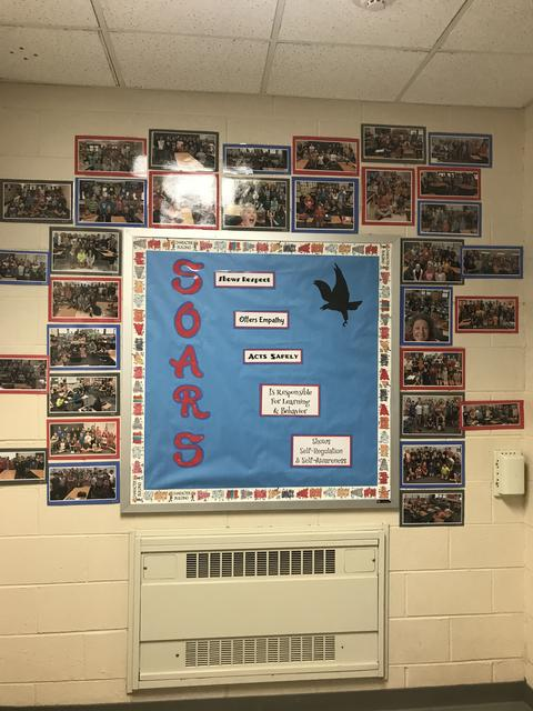 SOARS bulletin board