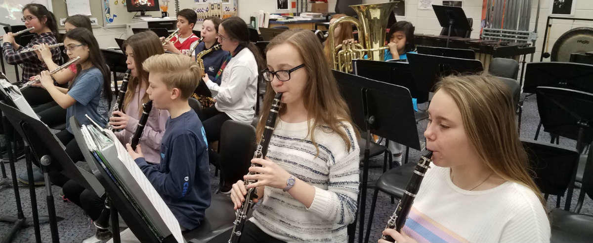 BAnd woodwind department