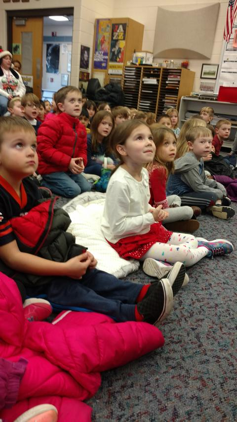 Watching the Holiday Concert