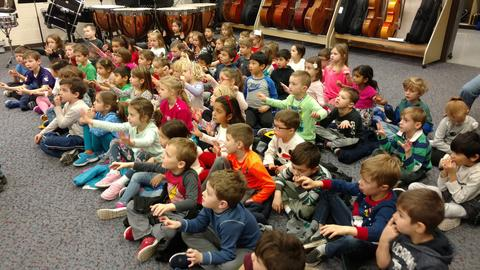 Learning to conduct a band!