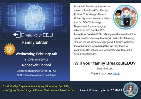 Breakout EDU Family Edition