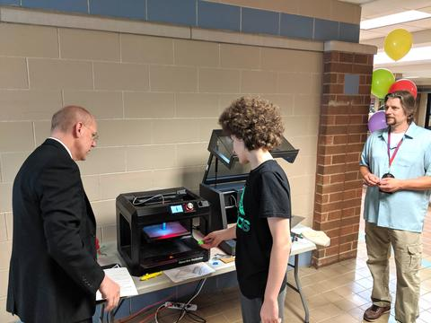 New superintendent at 3D printing activity