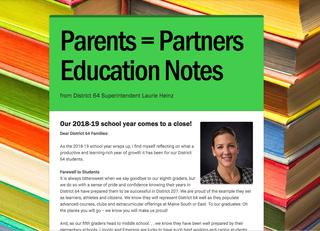 Partners Education Notes