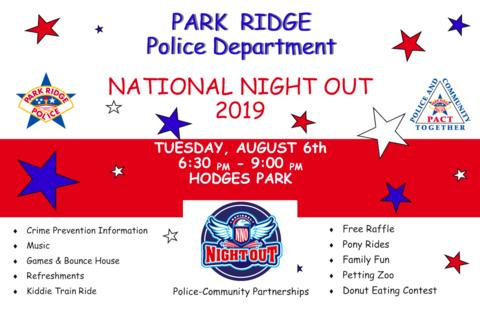 Park Ridge PD National Night Out 2019