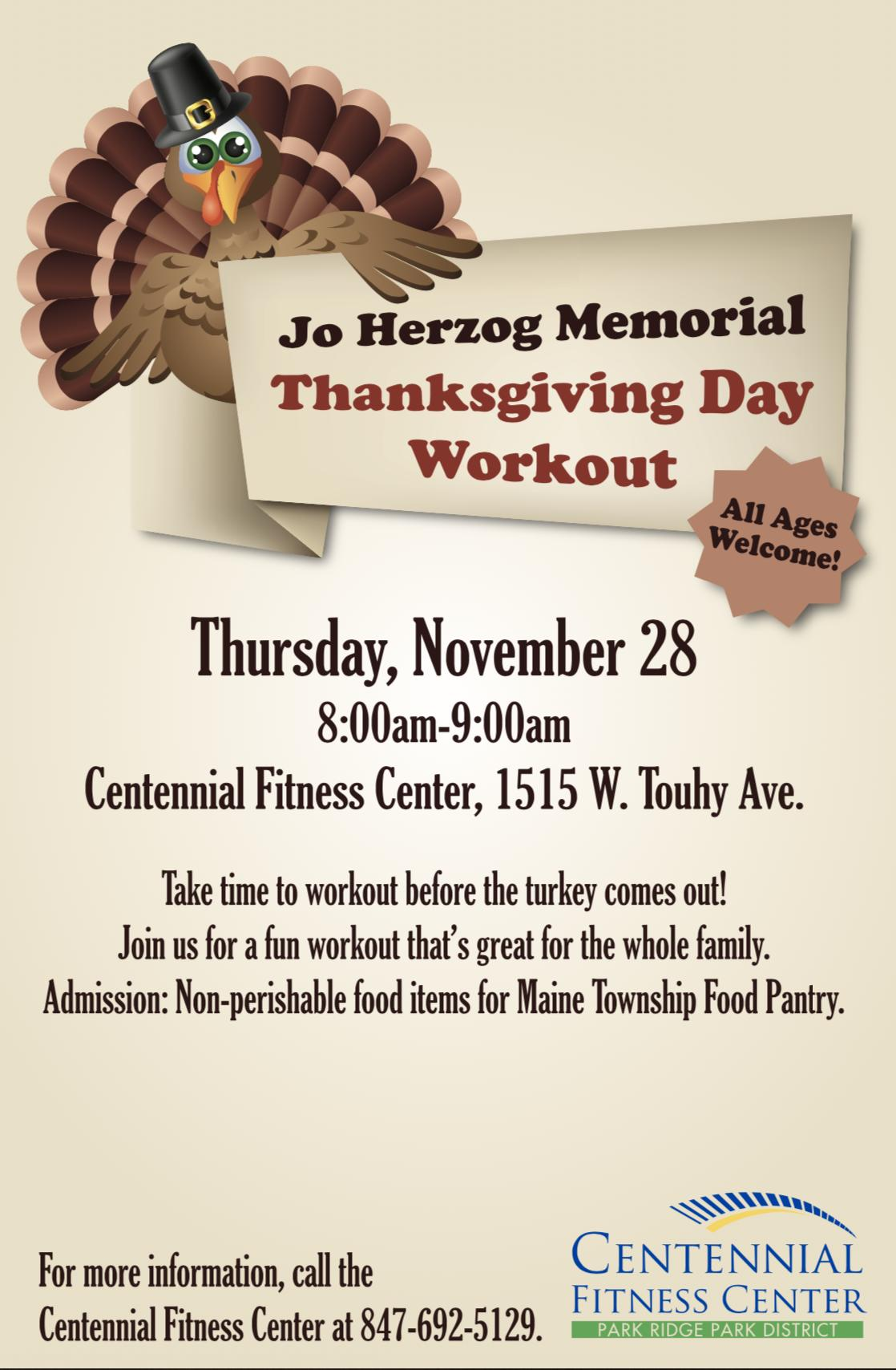 Thanksgiving Day Workout