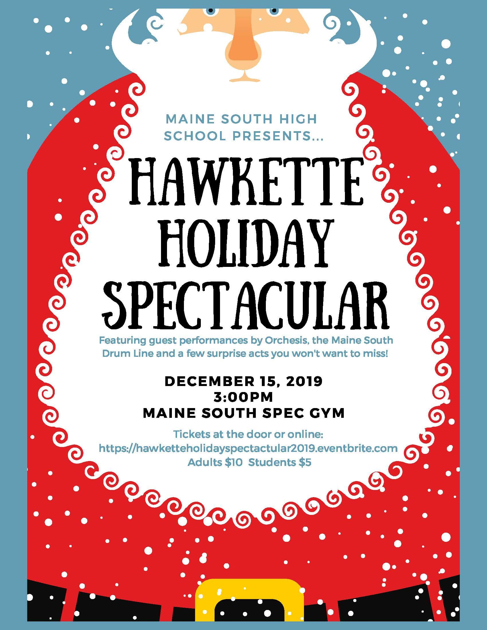 Hawkette Holiday Spectacular