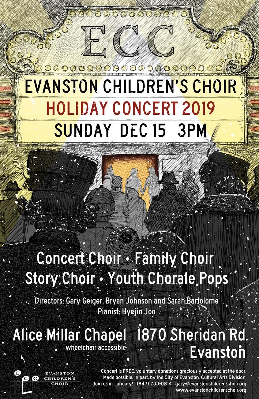 Evanston Children's Choir Holiday Concert