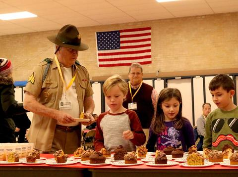 Field School, Muffins with Military Veterans