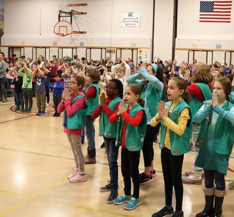 Franklin School Veterans Day ceremony